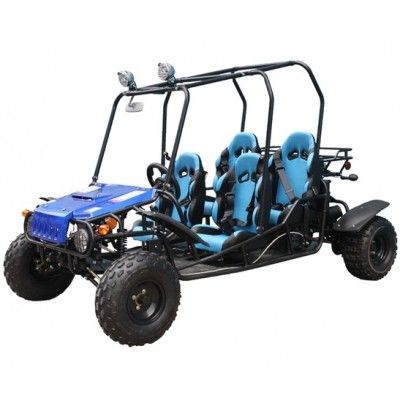 PRO TT 4-FUN 150cc 4 seater Go Kart Fully Automatic with Reverse , Honda CRF Series Clone 4 Stroke Engine, 4 Seater