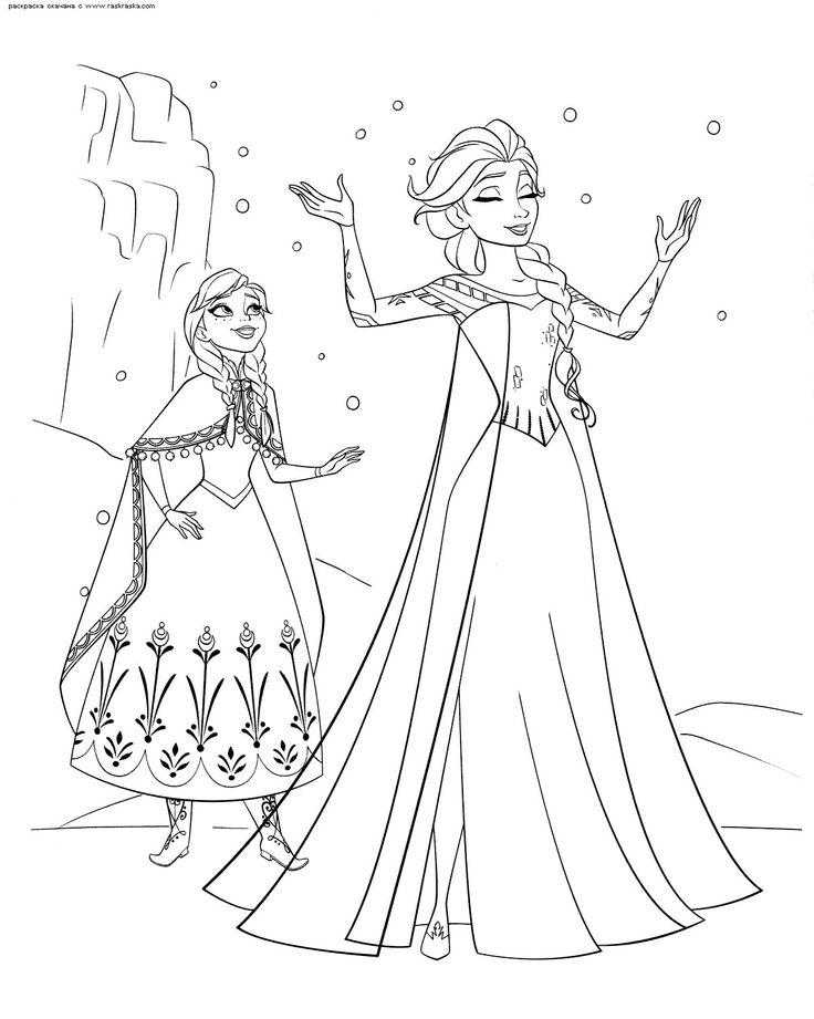 Frozen Disney Coloring Pages