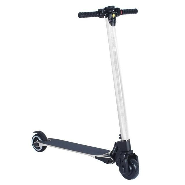 1PC Mini Smart Large Battery Life 20km Folding Electric Cycle Scooter Gift#