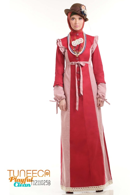 Gamis Frill Armhole Accent
