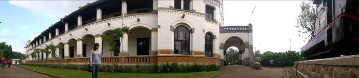 Lawang Sewu is one of the historic building that was built by the Dutch colonial administration (semarang, Indonesia)