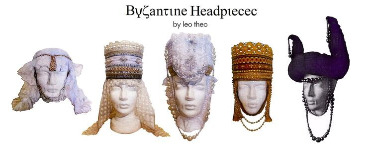 Byzantine Headpieces by #leotheo