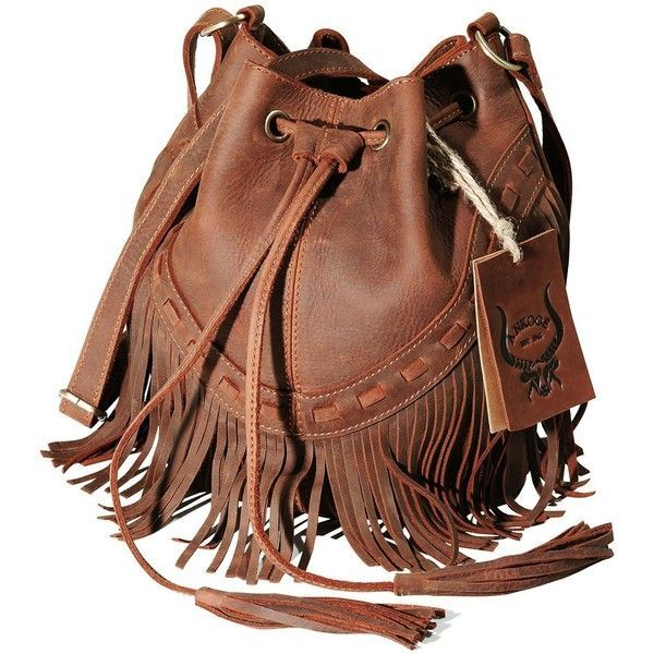 Women Bohemian Leather Fringe Bag Pouch Tribal Tassel Cross-body... ( 87 629464d94b19a