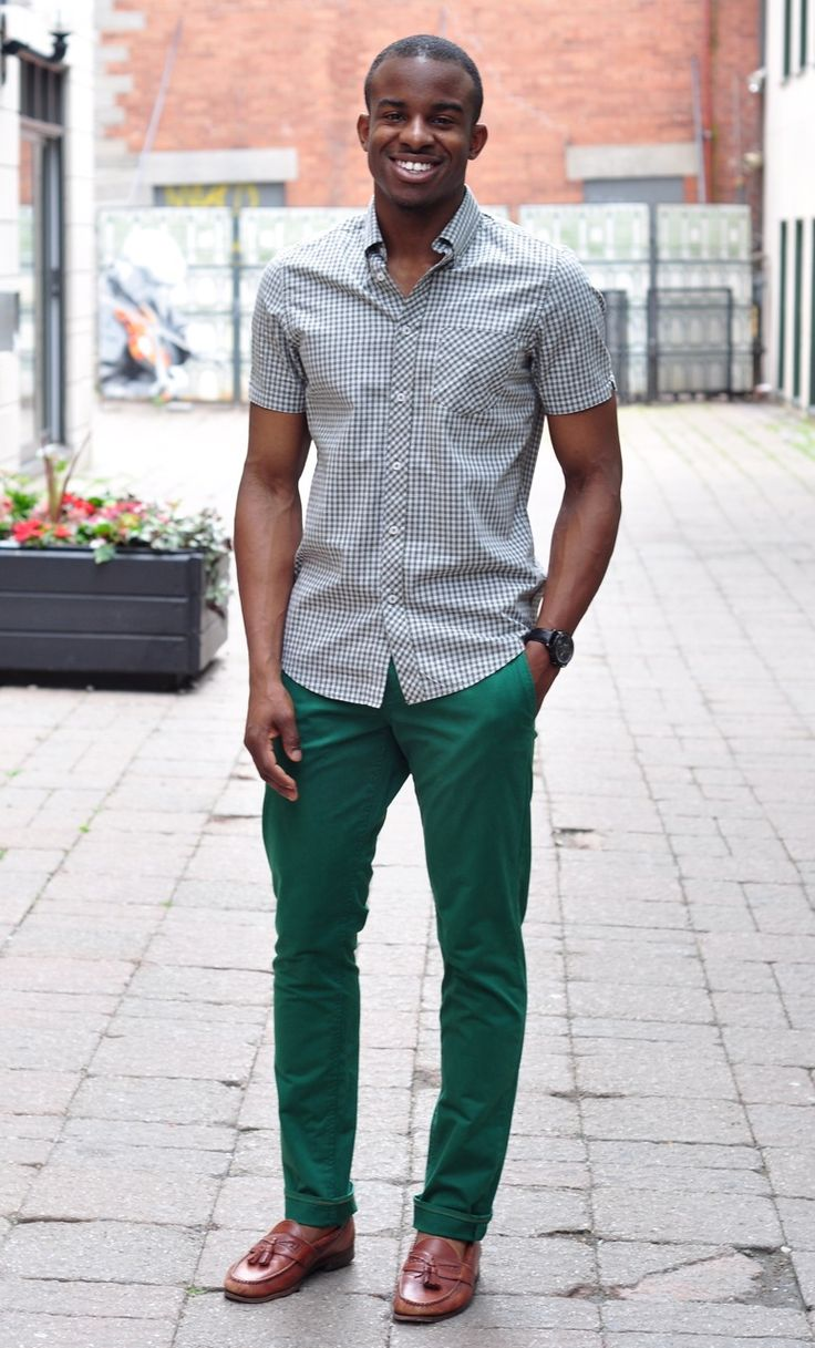 17 Best images about Black Man Style on Pinterest | Tan pants ...