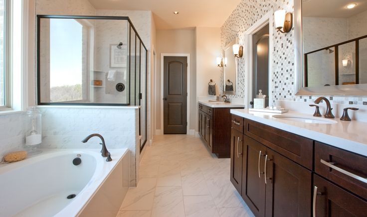 17 best images about master bathrooms ashton woods on for Master bathrooms without bathtubs
