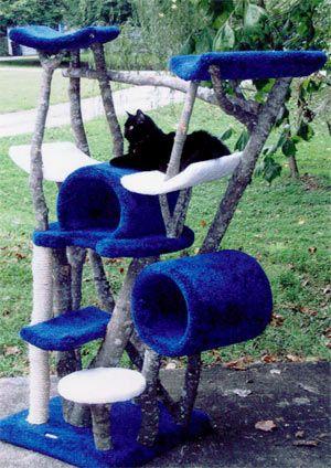 Cradle in the Sky 6 Level Rustic Cat Tree
