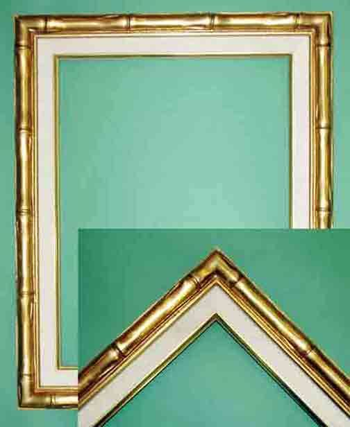 9x12 Gold Bamboo Frames Sv Watermark Interior Update Frame
