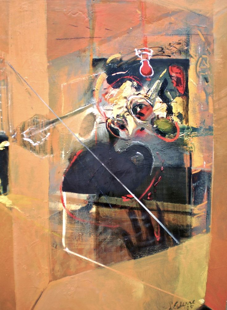 ELAINE d'ESTERRE - Framed Fragments, 2007,oil on gessoed board 92x62 cm by Elaine d'Esterre about architectural items as metaphors for vision, viewed  at http://elainedesterreart.com and http://www.facebook.com/elainedesterreart/ and http://instagram.com/desterreart/