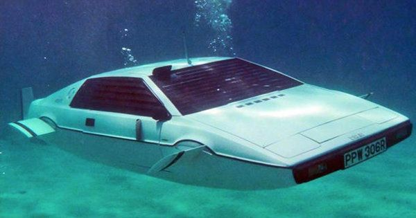 James Bond's iconic Lotus submarine car for sale
