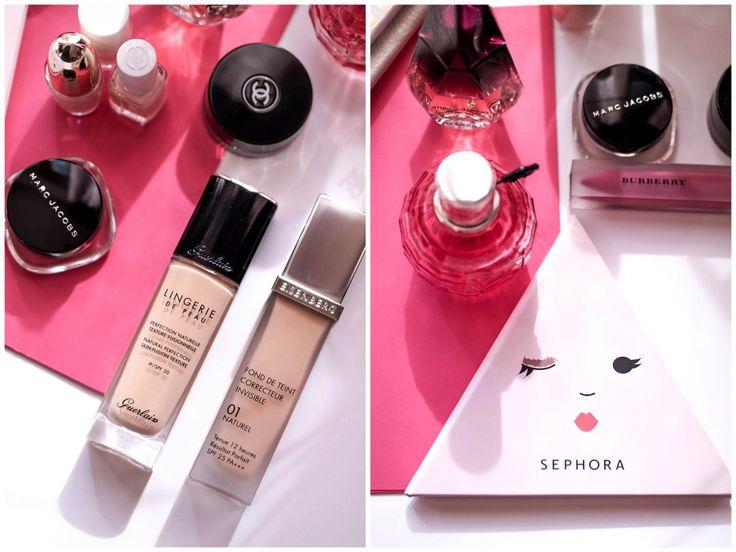 Ulubieńcy #makijaż i perfumy   luty - marzec 2017