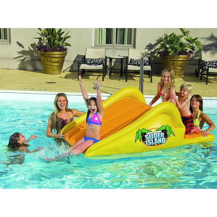 25 Best Ideas About Above Ground Pool Slide On Pinterest Pool Slides Splash Pad Near Me And