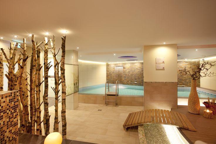 Der Wellnessbereich im advena Hotel Hohenzollern City Spa