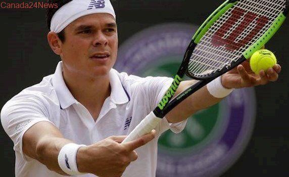 Canada's Milos Raonic strides into fourth round of Wimbledon