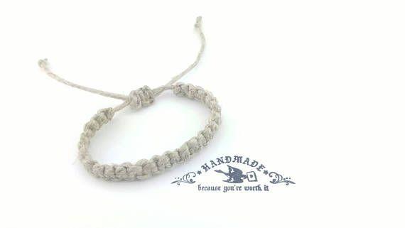 Check out this item in my Etsy shop https://www.etsy.com/listing/258658167/mens-hemp-bracelet-handmade-hemp-jewelry