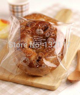 Spedizioni & imballaggio 200 pz/lotto trasparente biscotto sacchetti di plastica, regali packaging borse, sapone/caramelle, 18*15 cm  (China (Mainland))
