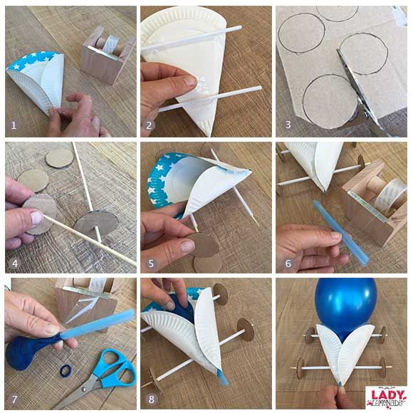 DIY: Ballonauto (Lady Lemonade)
