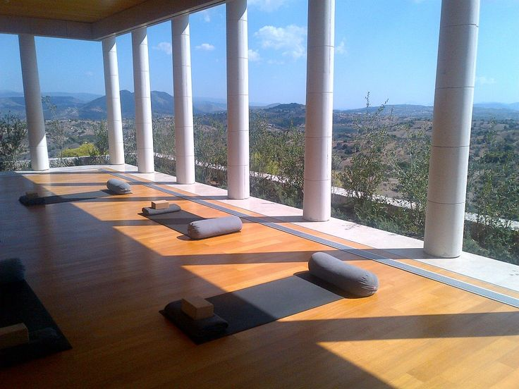 Any open air yoga space is a yes for me! Harness the energy of your surroundings!