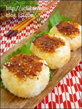 夏ミョウガ香る♪じゃこ味噌焼きおにぎり お弁当 おにぎりレシピ レシピブログ