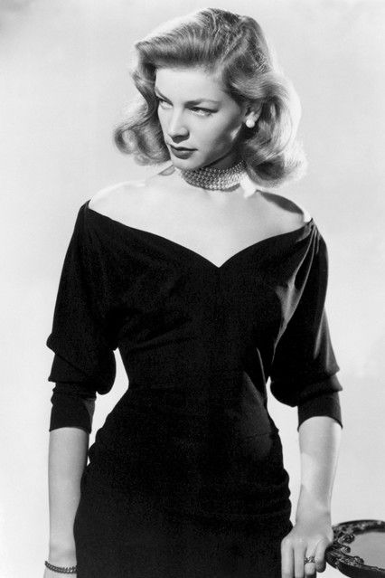 Lauren Bacall's death has brought a wealth of vintage fashion pictures.
