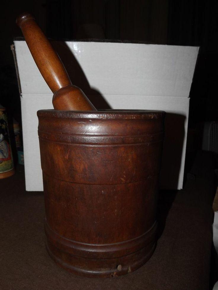 213 Best Antique Wooden Mortar Amp Pestle Images On