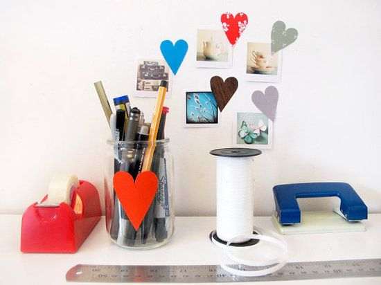 A package of assorted heart stickers from Tinch Design Studio ($8 for 10) are a sweet way to show your love for smaller works, or a budding photog's pics.