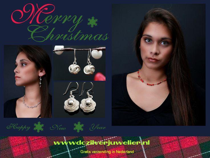 Leuke cadeaus voor onder de kerstboom!  Gratis verzending in Nederland. België vaste verzendprijs €2.75 www.dczilverjuwelier.nl #sieraden #gratisverzending #cadeautips #oorbellen #kerst