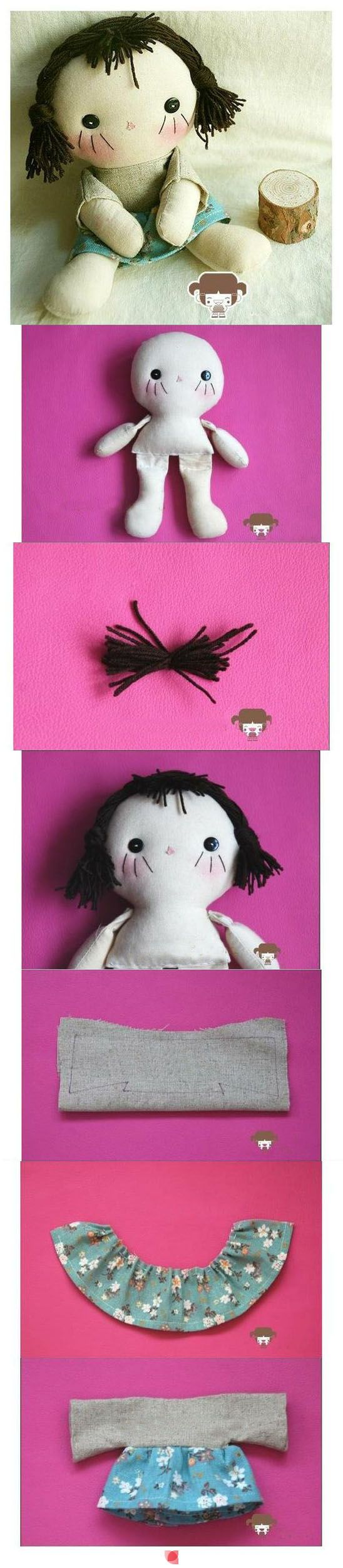 i love this doll....i have the pattern, too! now i want to create one as well!...