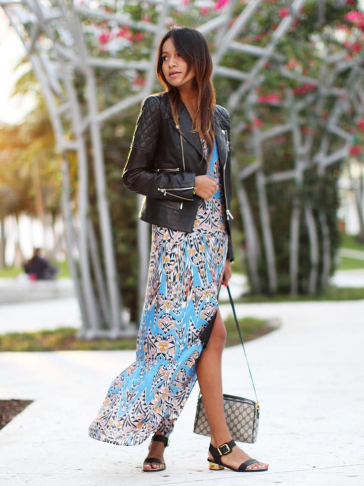Maxi W/Leather