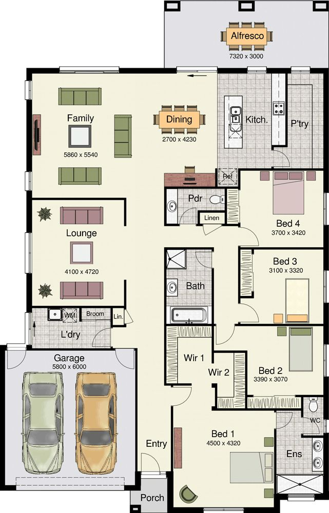 333 best house plans images on pinterest house floor for Home designs and floor plans