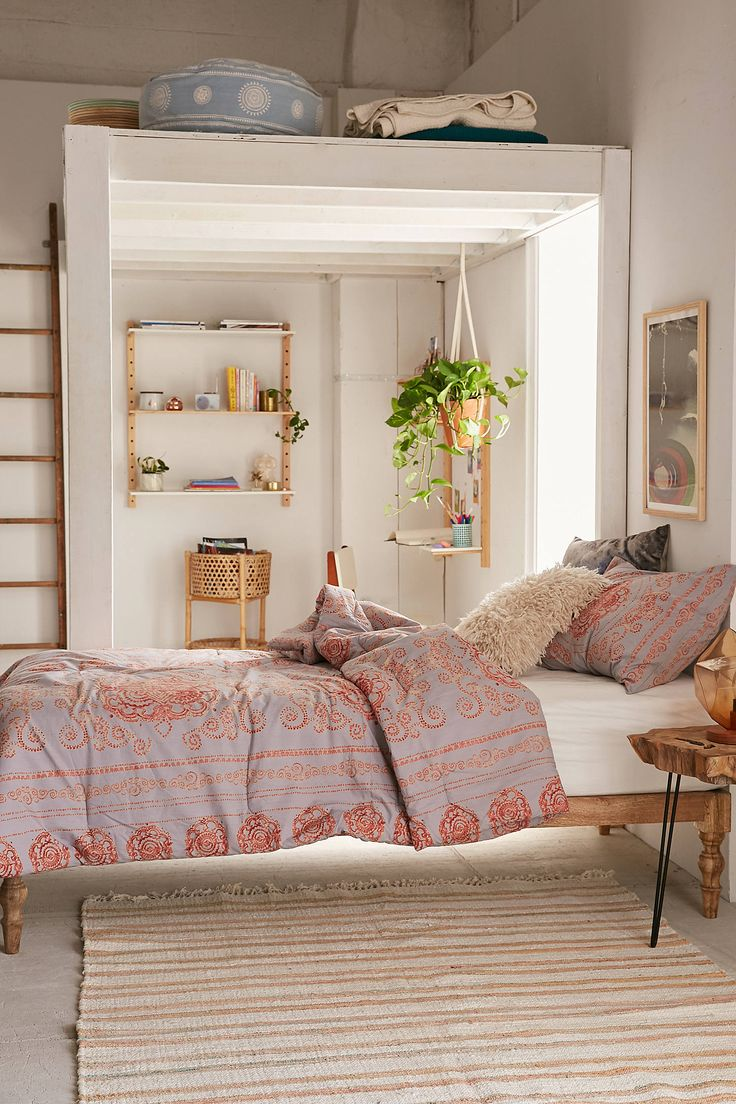 Boho loft bedroom   best images about Room on Pinterest  Urban outfitters Clothes