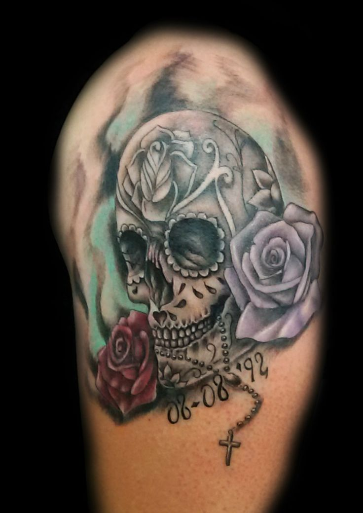 www.valestattoo.com #valestattoo #tattoo #tattooed #tatuaggio #teschio #teschiomessicano #skull #mexicanskull #rose #roses #color #colorart #colortattoo #eternal #eternalink #eternaltattoo #pantheraink #pantherablackink #pantherainktattoo #tattooart #tatooartist #tatooartistitaly #tattoomadeinitaly #photooftheday #bestoftheday #love