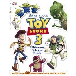 Toy Story 3: Ultimate Sticker Book $9.95