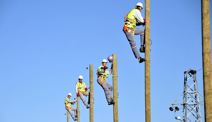http://www.mesuttaskin.com/elektrik-dagitim-personeline-fiziki-kriterler-getiriliyor-284/  Yüksek tehlikesi olan elektrik işiyle uğraşan personele, elektrik işçilerine ; boy, kilo, işitme, yaş ve refleks gibi fiziki kriterler getirilecek.