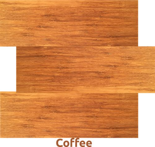 Coffee - one of our ECO Bamboo Flooring   ELF