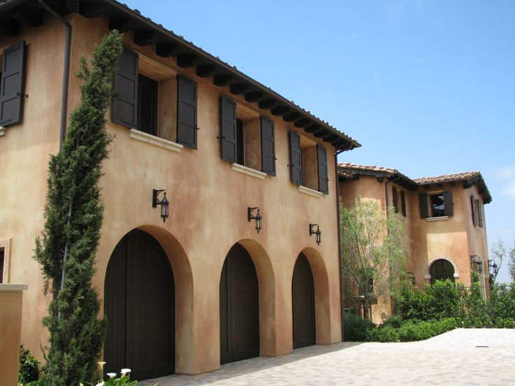 Shady canyon ca santa barbara smooth finish with a wash - Different exterior wall finishes ...