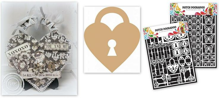 472.948.009 Dutch Paper Art Keys door Jenine Siemerink