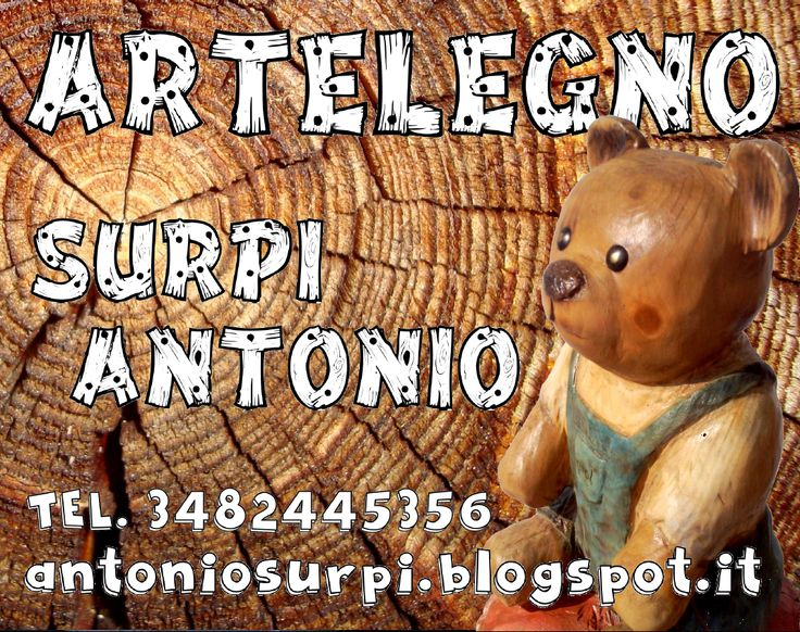 Surpi Antonio scultore con la motosega