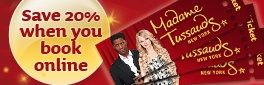 Buy Tickets Online for Madame Tussauds New York and Save!