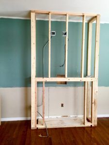 From blank and boring wall to warm and charming - http://www.gizmohomecraft.com/newblog/from-blank-and-boring-wall-to-warm-and-charming/