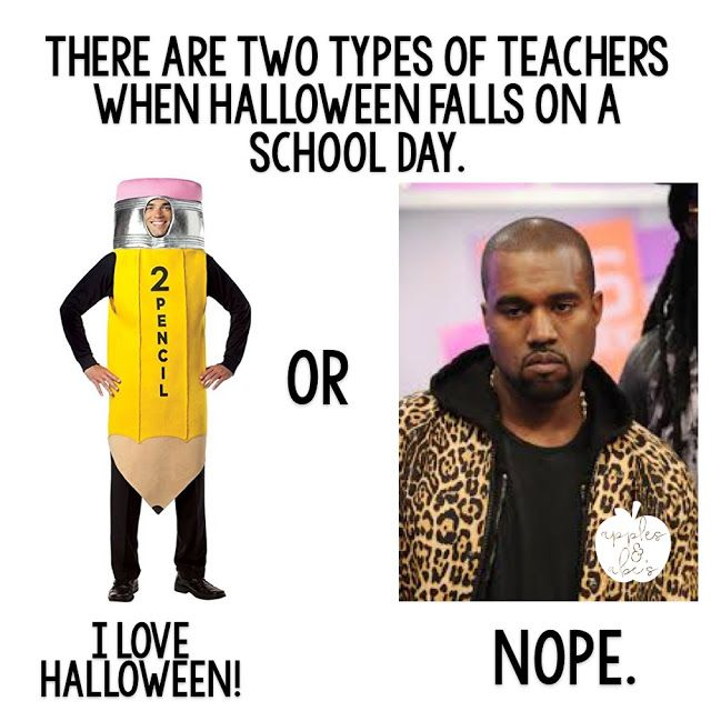 halloween teacher meme
