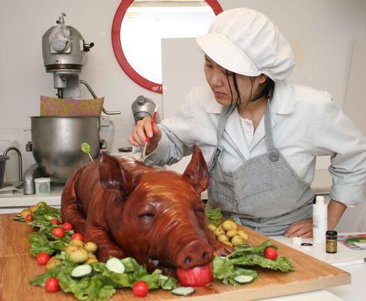 Michelle Cake Artist : 17 Best images about suckling pig on Pinterest Pork, Pig ...
