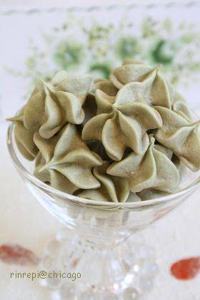 抹茶メレンゲ