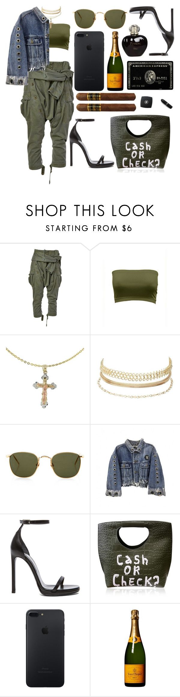 """""""so you can put me together and throw me against the wall"""" by hoodprophet ❤ liked on Polyvore featuring Faith Connexion, Cross, Charlotte Russe, Linda Farrow, Yves Saint Laurent and Christian Dior"""
