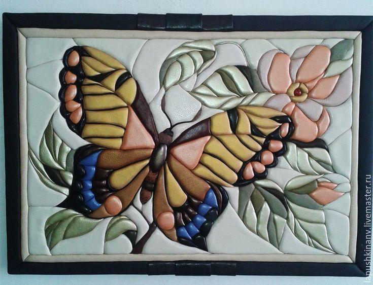 """Купить Картина """"Бабочка"""" - комбинированный, картина в подарок, картина для интерьера, картина, картина на заказ, подарок"""
