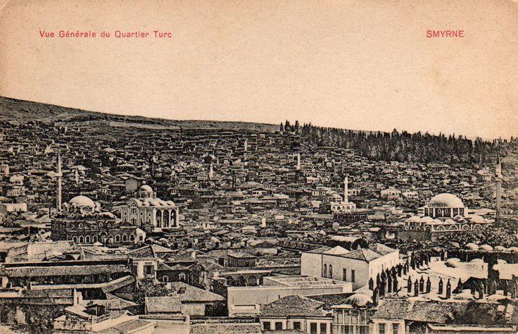 Smyrna - Smyrne_Vue generale du quartier turc