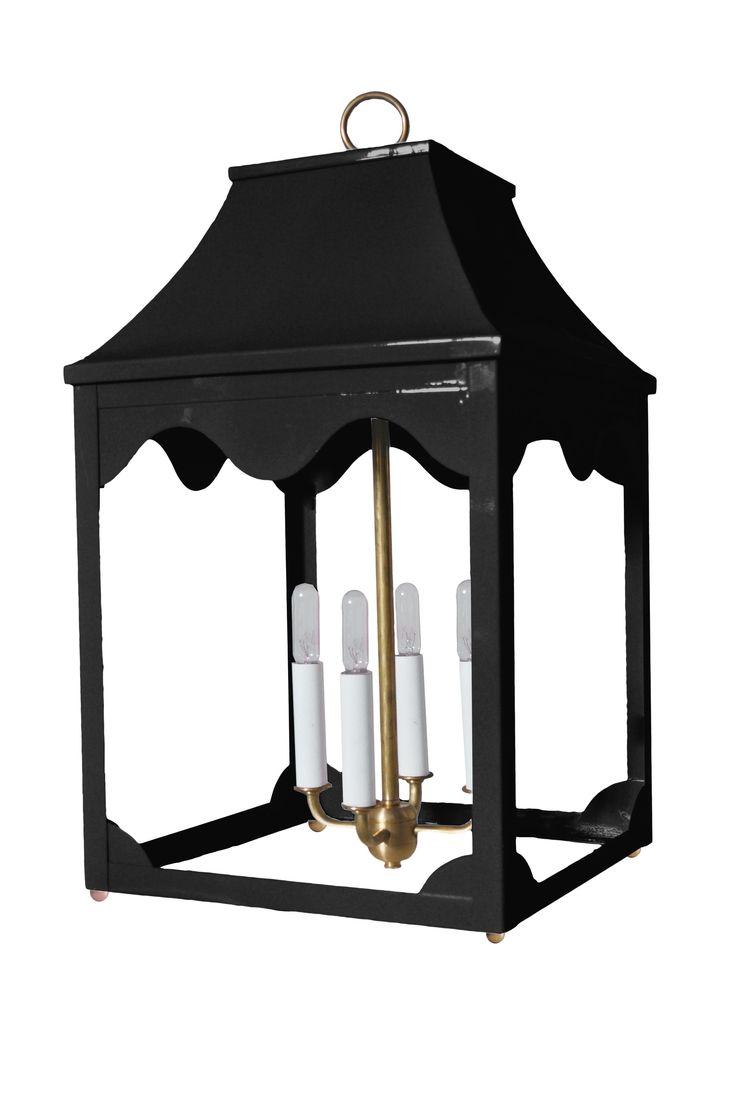 Oomph   Hobe Sound Lantern  Tricorn Black