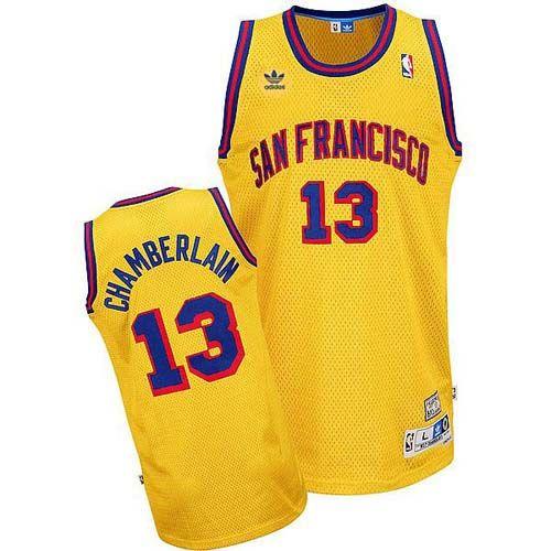 2d93540f863 Swingman Yellow Jersey NBA San Francisco Warriors Basketball Wilt  Chamberlain 13 Throwback Jersey Wilt Chamberlain jersey-Buy 100% official Adidas  Wilt ...
