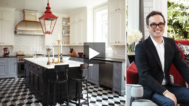 Victorian Kitchen Retro | House & HomeVictorian Kitchens, Kitchens Design, Dreams Kitchens, Bold Spaces, Subway Tile, Grey Cabinets, Amazing Kitchens, Bistros Kitchens, Tommy Smyth