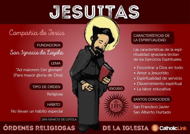 La espiritualidad ignaciana es una de las más conocidas de la Iglesia. Aquí, una sencilla infografía sobre la Compañía de Jesús.  https://twitter.com/catholiclink_es/status/827908875579977729  CISNE (@CISNE_2012) | Twitter