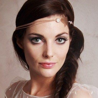Headband, bijoux de mariage, bijoux de tête
